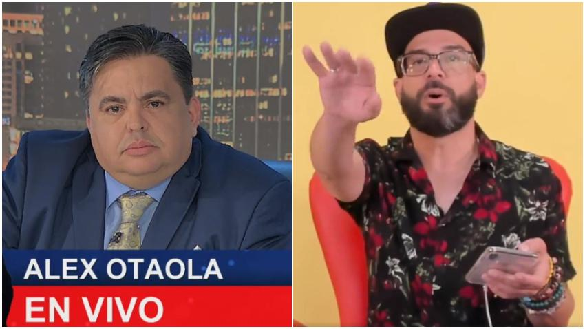 Alexander Otaola y Carlucho comienzan a limar asperezas tras llamada en vivo en el Show de Carlucho