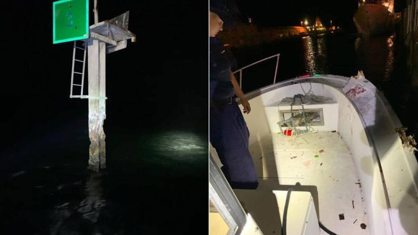 Una persona es arrojada al mar y otras dos heridas en accidente de bote por conductor embriagado en los Cayos de la Florida
