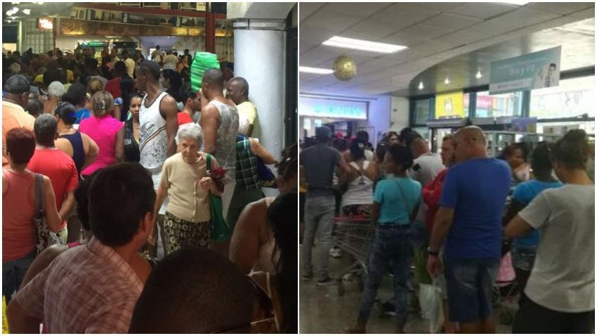 """En medio de la escasez en Cuba dos cubanos lanzan el reto """"#LaColaChallenge"""""""