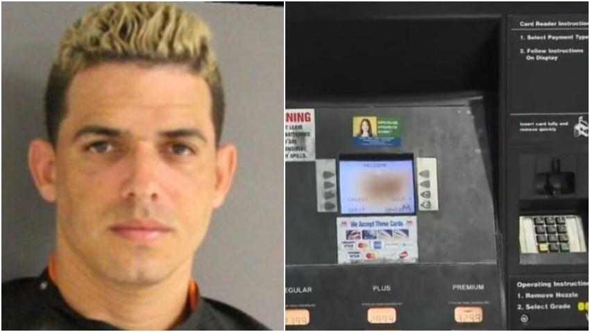 Cubano que usaba dispositivo para robar tarjetas de crédito en gasolineras evita la cárcel pero fue condenado a 10 años de libertad supervisada
