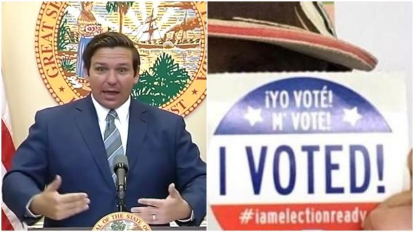 Gobernador de la Florida confirma que rusos tuvieron acceso a 2 base de datos de votantes en el estado