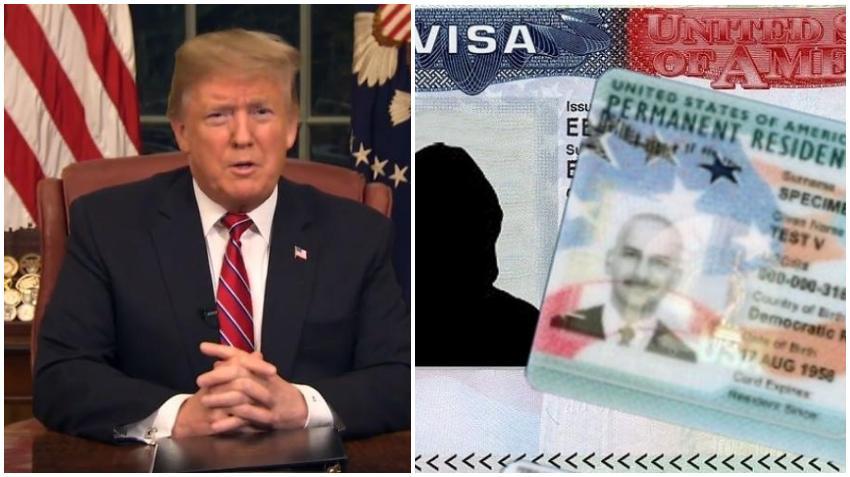 Presidente Trump planea develar una propuesta de política migratoria en el que se cambiaría a un sistema de méritos eliminando la lotería de visas