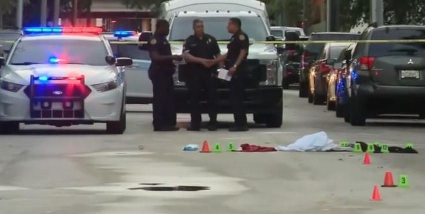 Encuentran a una mujer apuñalada en la calle en el downtown de Miami