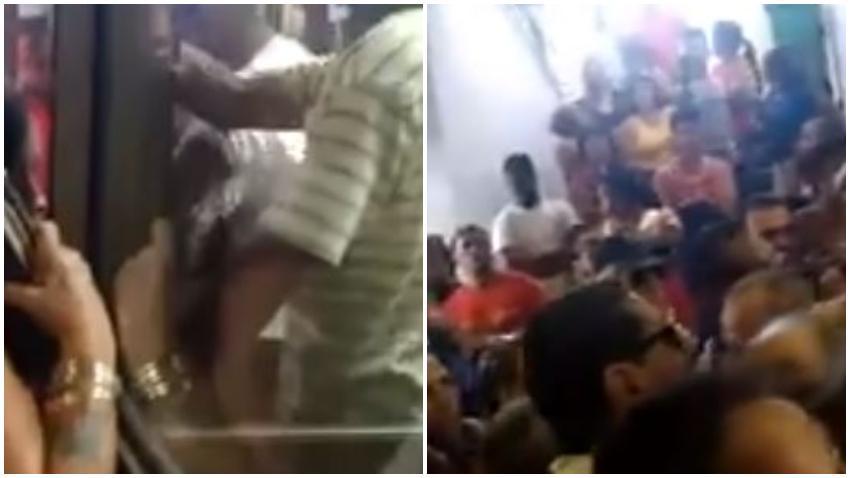Lamentable enfrentamiento entre trabajadores y clientes en una cola en Cuba para comprar pollo