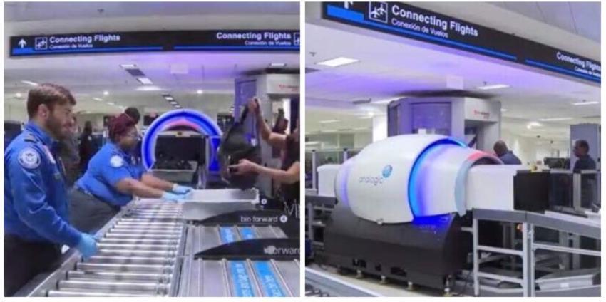 Aeropuerto Internacional de Miami prueba nuevo escáner de última generación para equipaje de mano