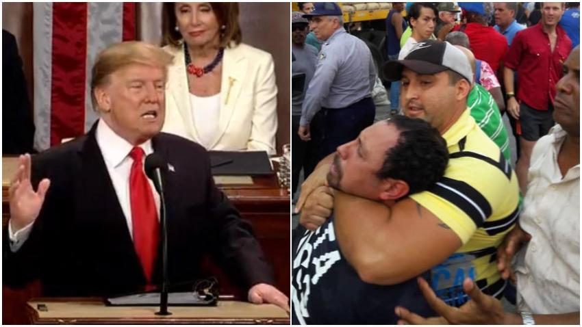 Gobierno de Estados Unidos condena la represión en Cuba
