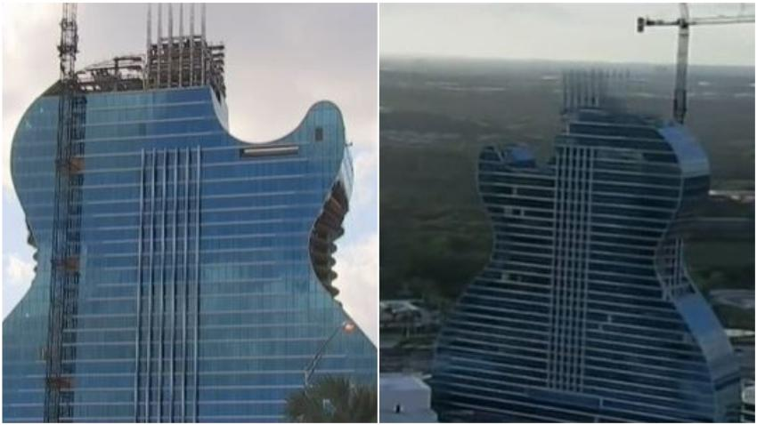 Florida estrenará el primer hotel del mundo con forma de guitarra