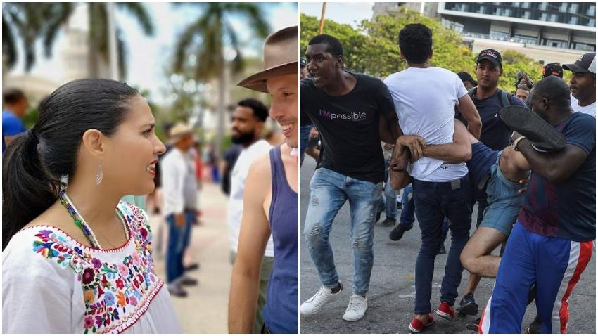 """Haydée Milanés sobre la represión  a la marcha contra la homofobia en Cuba: """"Eran unos trogloditas maltratando a gente que eran en su mayoría estudiantes, diseñadores, artistas, profesionales, actores, en fin, personas que venían en son de amor y paz"""""""