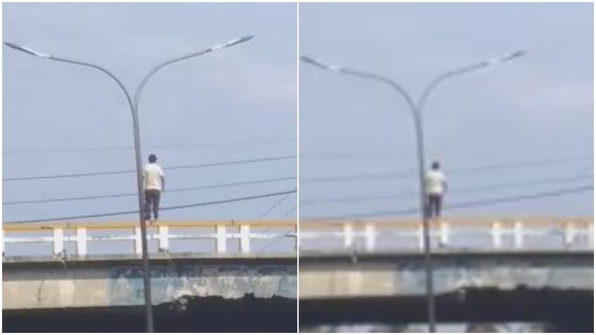 Se suicida un cubano lanzándose del puente de la autopista en Calabazar