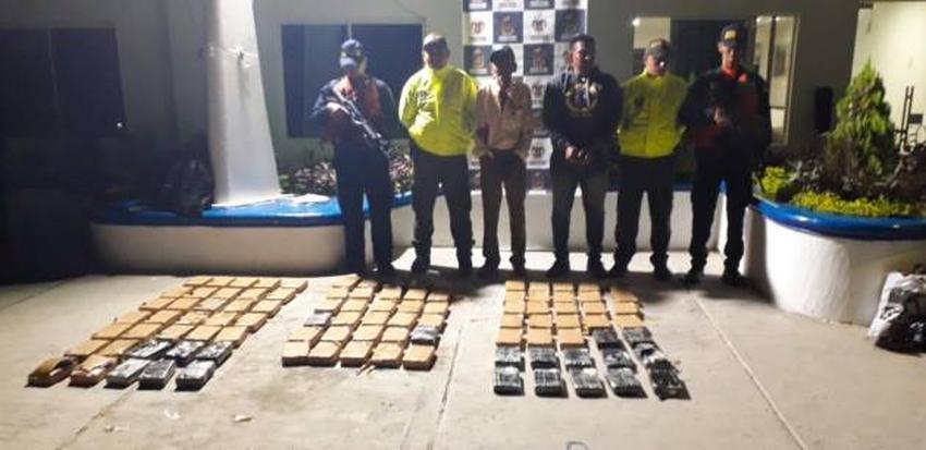 Armada de Colombia incauta 90 kilos de cocaína en un velero que se dirigía de Cartagena a Cuba