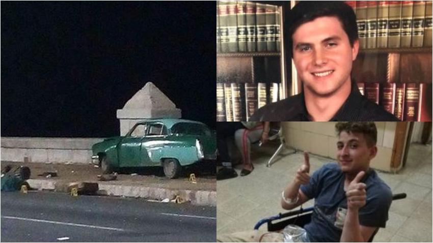 Llegan al Sur de la Florida dos jóvenes que resultaron heridos en el terrible accidente en el malecón de La Habana