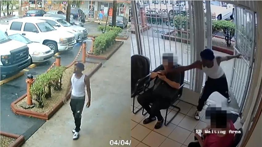 Ladrón arrebata celular de la mano de una mujer en consulta médica en el suroeste de Miami