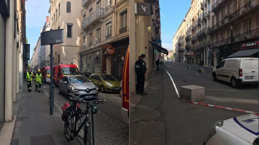 Explosión en la ciudad francesa de Lyon está siendo investigada como un acto terrorista