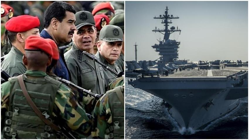 Canciller del régimen de Maduro asegura que Venezuela está lista para derrotar militarmente a Estados Unidos
