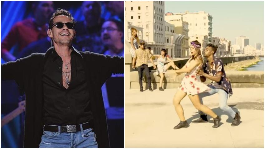 """Bailarina y coreógrafa cubana Lía Rodríguez enamora a Marc Anthony con su coreografía en Cuba del tema """"Parecen viernes"""""""