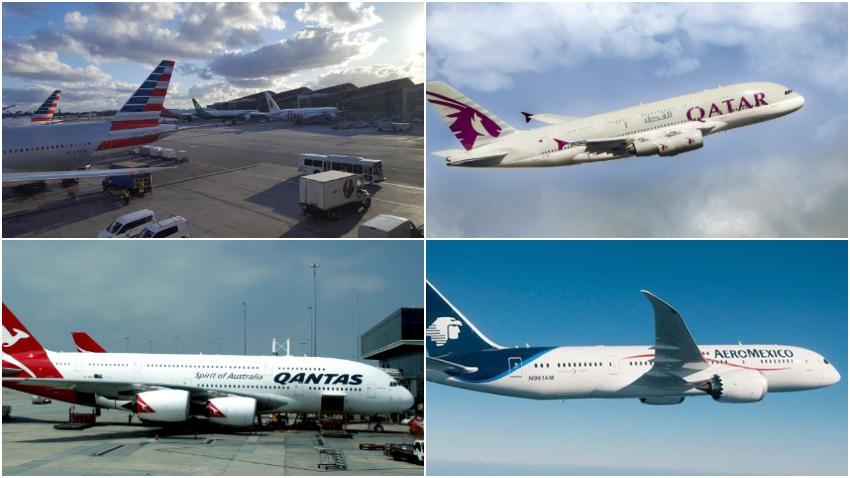 Las 10 mejores y peores aerolíneas del 2019