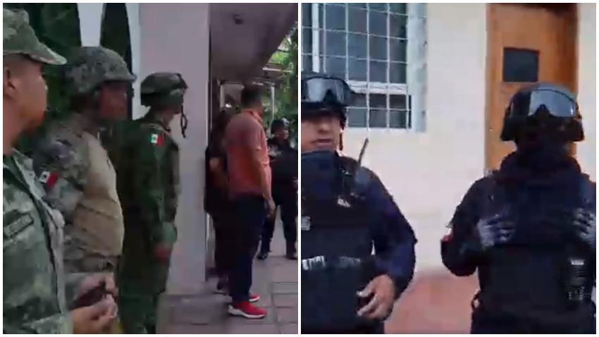 Autoridades en México realizan fuerte operativo policial para capturar a cubanos sin documentos legales