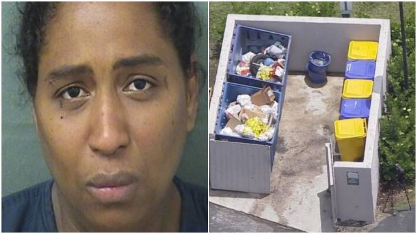 Acusan a madre de intento de homicidio en caso de bebé que fue encontrado en un tanque de basura
