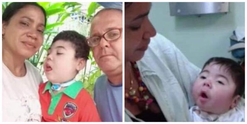 Padres cubanos desesperados buscan visa humanitaria en EEUU para su hijo con parálisis cerebral por negligencia en la Isla