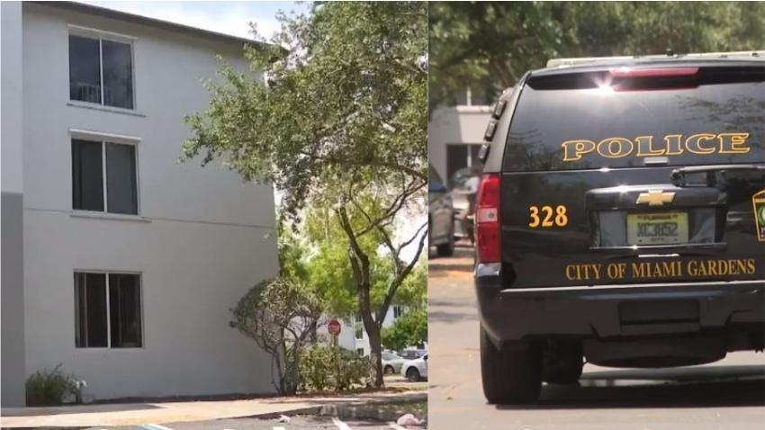 Un niño de 2 años cae de la ventana de un apartamento en un tercer piso en Miami