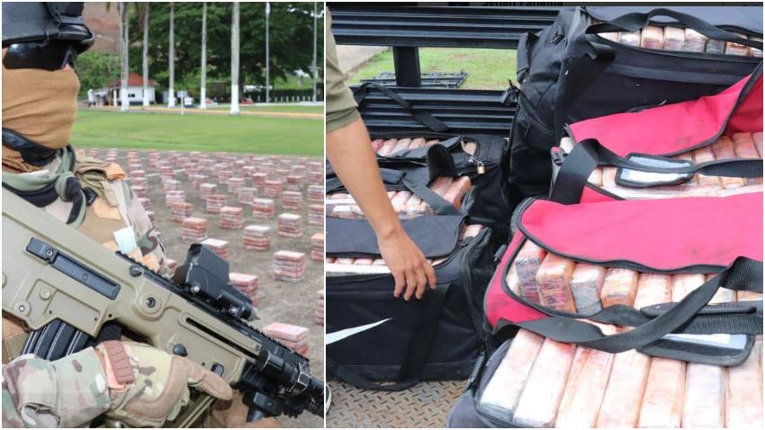 Autoridades en Panamá interceptan maletines con drogas provenientes de Cuba con rumbo a Turquía por un valor de 90 millones de dólares