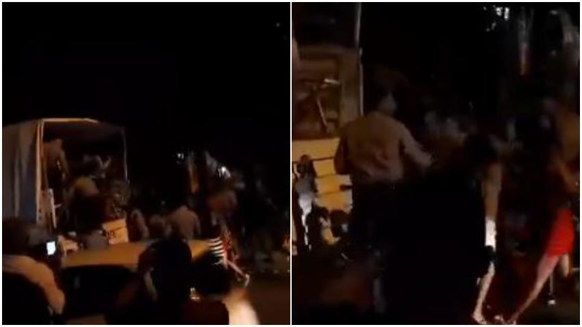 Imagenes de policías cubanos golpeando a mujeres en un barrio de La Habana causan indignación