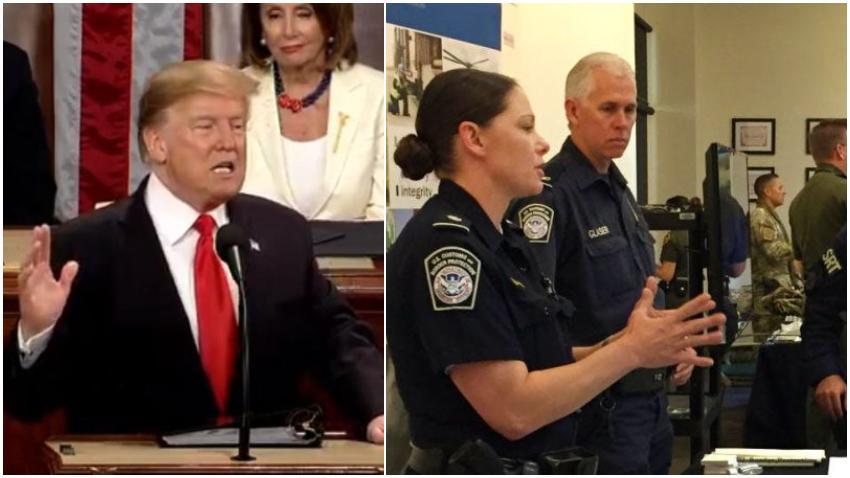 """Presidente Trump a los inmigrantes que se encuentran de manera ilegal en Estados Unidos: """"Por favor, no se pongan demasiado cómodos, se irán pronto"""""""