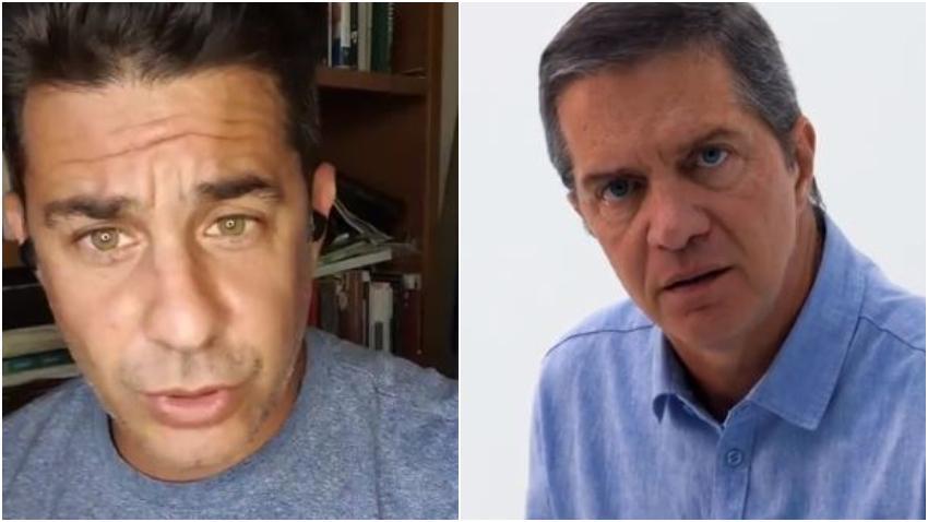 Actor cubano Roberto San Martín responde al también actor Fernando Echevarría por participar en la campaña contra la ley Helms-Burton