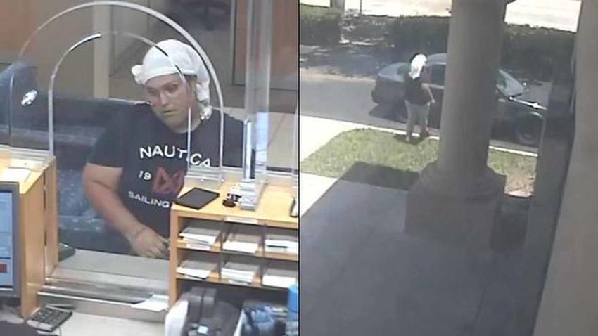 FBI busca a una mujer que roba en banco del sur de Florida
