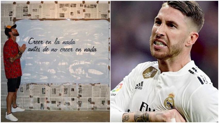 Jugador del Real Madrid, Sergio Ramos, se encuentra de visita en Cuba