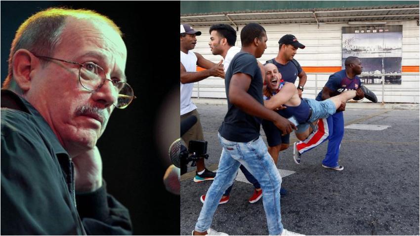 Silvio Rodríguez recibe ola de críticas tras culpar a EEUU de la violenta represión contra la comunidad LGBTI+ en Cuba