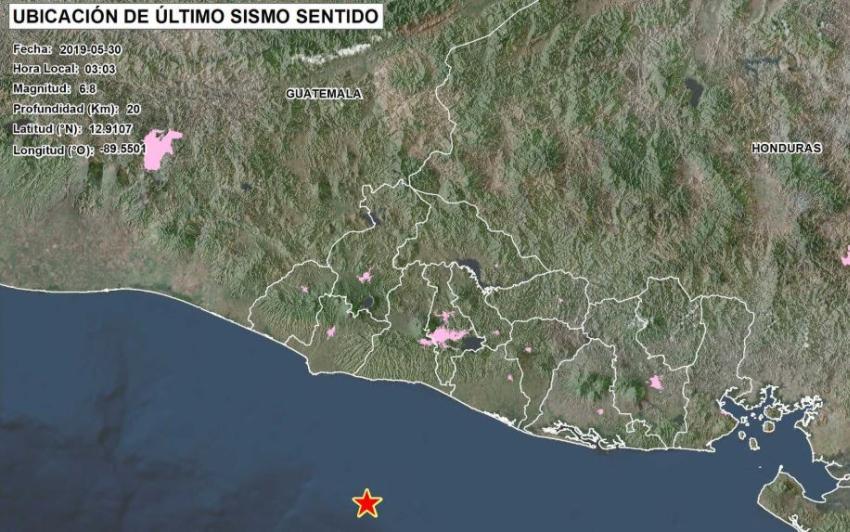 Sismo de gran magnitud en El Salvador provoca alerta de Tsunami