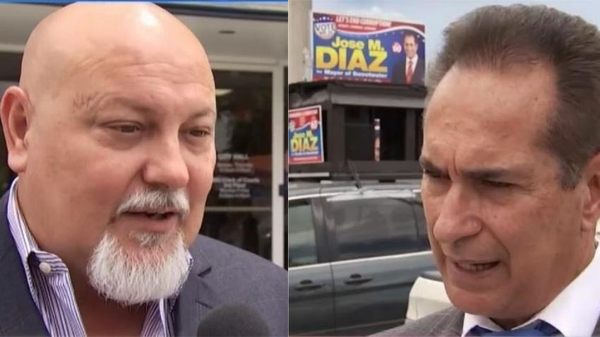Candidato a alcaldía de Sweetwater en Miami denuncia que balearon un vehículo de su campaña electoral