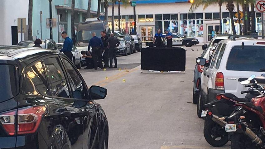 Tiroteo en Miami Beach deja un muerto y un herido