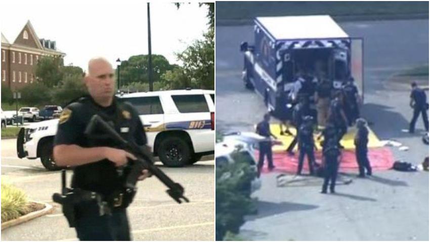 Al menos 12 muertos en un tiroteo en Virginia Beach