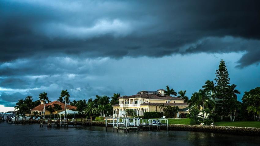 Alerta de tormenta severa en Florida y posible caída de granizo