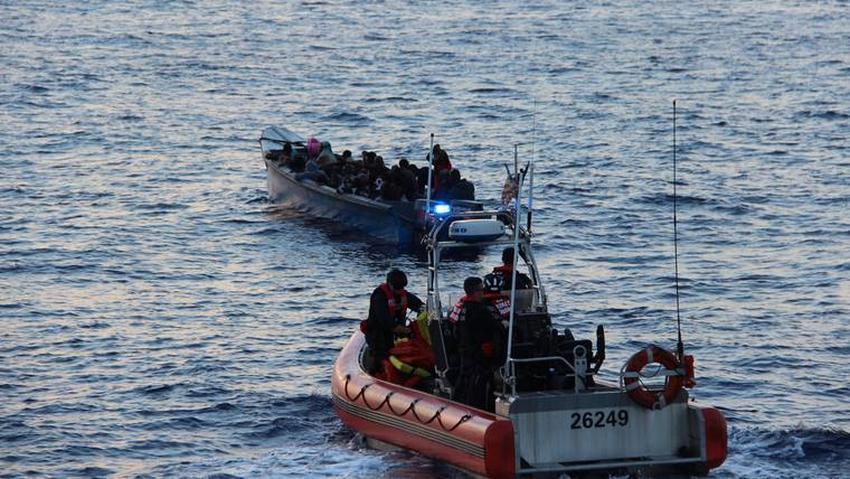 La Guardia Costera de los Estados Unidos intercepta bote con 50 balseros haitianos