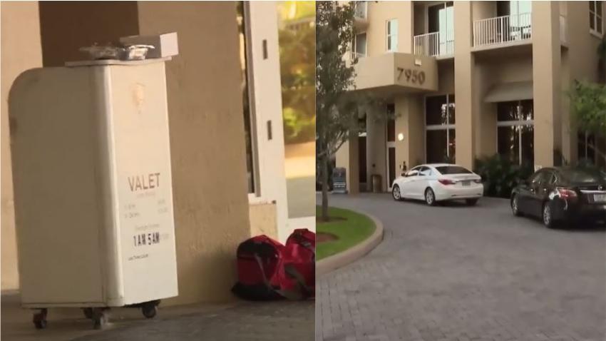 Roban al menos 5 autos del valet parking de un edificio residencial en Miami
