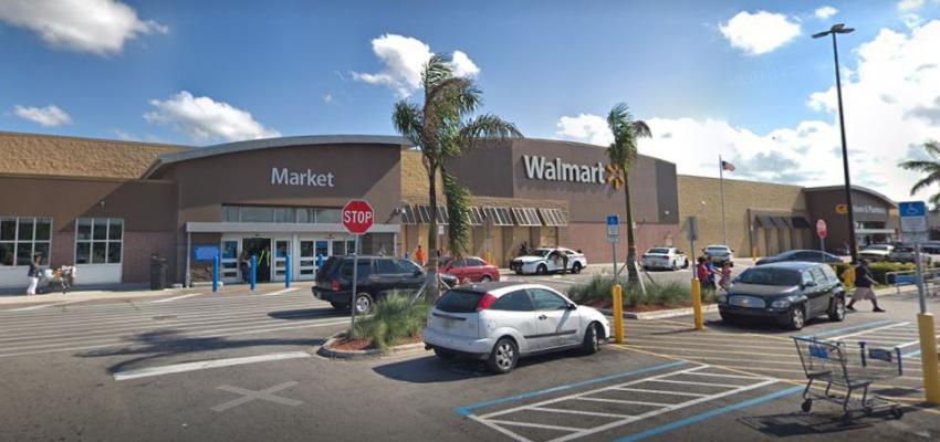 Evacuan Walmart del noroeste de Miami por amenaza de bomba