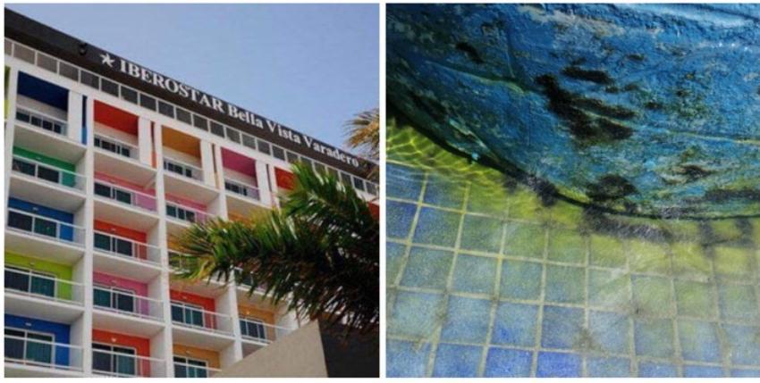 Así se encuentra la piscina del Hotel Iberostar Bella Vista en Varadero, con apenas dos años de inaugurado