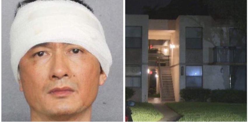 Hombre en Florida asesinó a su esposa y se atrincheró en el apartamento