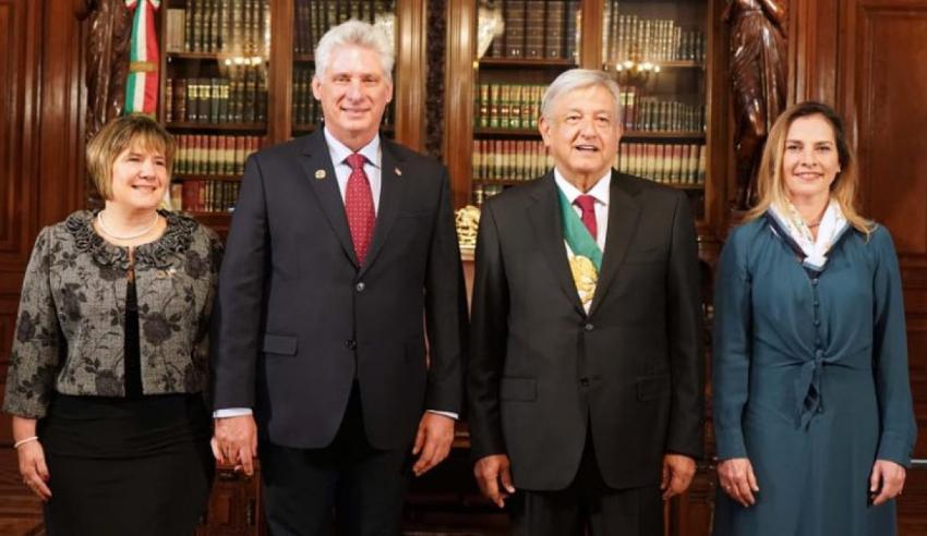 El Gobierno de México con López Obrador como presidente ratifica su compromiso de colaborar en temas de salud con Cuba