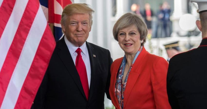 Trump busca firmar un ambicioso acuerdo comercial con Reino Unido, este martes se podría dar a conocer más