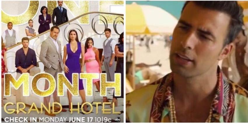 El cubano Jencarlos Canela interpreta a un rey en la serie Grand Hotel, versión en inglés para Netflix