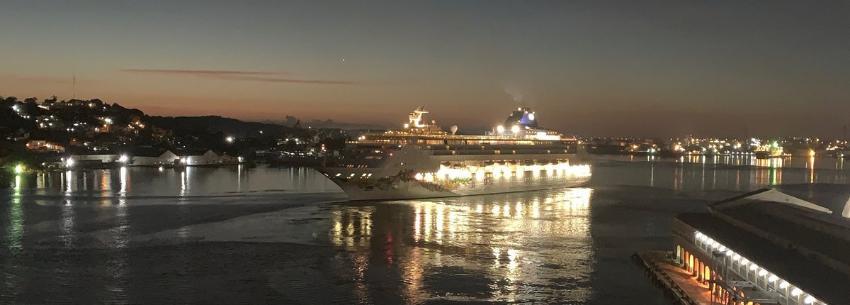 Norwegian Sky se despide de La Habana: Zarpa de Cuba el último crucero estadounidense