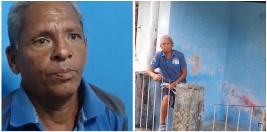 No tiene para comer y se le cae su casa encima: Así es la vida del valiente cubano que gritó en plena calle ¡Abajo Díaz-Canel!