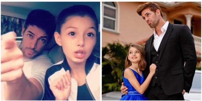 Kailey la hija de William Levy saca su lado más cubano cantando con su padre