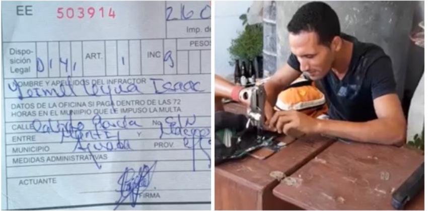 Cienfueguero asegura que fue asaltado en Aguada de Pasajeros por una patrulla de la policía
