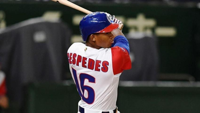 Hermano menor de Yoenis Céspedes abandonó el equipo de Cuba en la Liga Can-Am