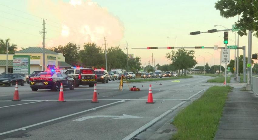 Muere un ciclista en accidente en Miami-Dade, el conductor se dio a la fuga, pero la policía alcanzó a detenerlo